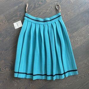 Orla Kiely 100% Wool Pleated Skirt (US2)